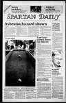 Spartan Daily, October 24, 1985 by San Jose State University, School of Journalism and Mass Communications
