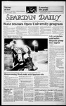 Spartan Daily, October 28, 1985 by San Jose State University, School of Journalism and Mass Communications