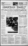 Spartan Daily, October 30, 1985 by San Jose State University, School of Journalism and Mass Communications