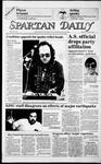 Spartan Daily, October 31, 1985