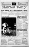 Spartan Daily, November 6, 1985 by San Jose State University, School of Journalism and Mass Communications