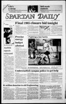 Spartan Daily, November 7, 1985 by San Jose State University, School of Journalism and Mass Communications