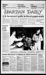 Spartan Daily, November 20, 1985