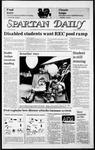 Spartan Daily, November 22, 1985