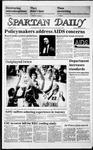 Spartan Daily, November 25, 1985