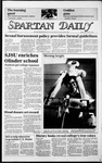 Spartan Daily, December 9, 1985 by San Jose State University, School of Journalism and Mass Communications