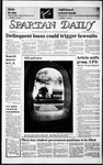 Spartan Daily, January 27, 1986 by San Jose State University, School of Journalism and Mass Communications