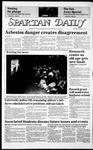Spartan Daily, January 29, 1986