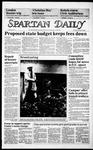 Spartan Daily, January 30, 1986 by San Jose State University, School of Journalism and Mass Communications