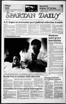 Spartan Daily, February 4, 1986 by San Jose State University, School of Journalism and Mass Communications