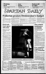 Spartan Daily, February 6, 1986 by San Jose State University, School of Journalism and Mass Communications