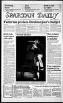 Spartan Daily, February 6, 1986