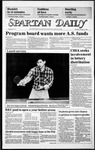 Spartan Daily, February 13, 1986 by San Jose State University, School of Journalism and Mass Communications
