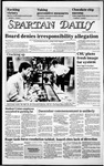 Spartan Daily, February 24, 1986 by San Jose State University, School of Journalism and Mass Communications