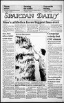 Spartan Daily, February 25, 1986 by San Jose State University, School of Journalism and Mass Communications
