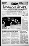 Spartan Daily, March 12, 1986 by San Jose State University, School of Journalism and Mass Communications