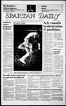Spartan Daily, March 17, 1986 by San Jose State University, School of Journalism and Mass Communications