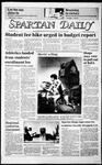 Spartan Daily, March 18, 1986 by San Jose State University, School of Journalism and Mass Communications