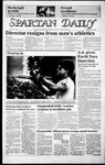 Spartan Daily, April 1, 1986 by San Jose State University, School of Journalism and Mass Communications