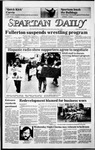 Spartan Daily, April 9, 1986 by San Jose State University, School of Journalism and Mass Communications