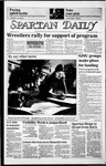 Spartan Daily, April 14, 1986 by San Jose State University, School of Journalism and Mass Communications