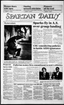 Spartan Daily, April 18, 1986