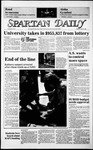 Spartan Daily, April 28, 1986 by San Jose State University, School of Journalism and Mass Communications