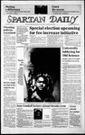 Spartan Daily, April 30, 1986 by San Jose State University, School of Journalism and Mass Communications