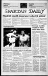Spartan Daily, May 6, 1986 by San Jose State University, School of Journalism and Mass Communications