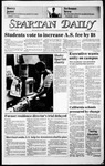 Spartan Daily, May 12, 1986 by San Jose State University, School of Journalism and Mass Communications