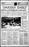 Spartan Daily, May 13, 1986 by San Jose State University, School of Journalism and Mass Communications