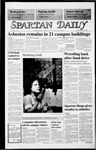 Spartan Daily, August 25, 1986 by San Jose State University, School of Journalism and Mass Communications