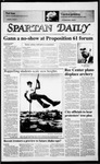 Spartan Daily, September 4, 1986 by San Jose State University, School of Journalism and Mass Communications