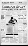 Spartan Daily, September 15, 1986 by San Jose State University, School of Journalism and Mass Communications
