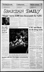 Spartan Daily, September 29, 1986 by San Jose State University, School of Journalism and Mass Communications