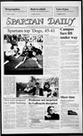Spartan Daily, October 6, 1986 by San Jose State University, School of Journalism and Mass Communications