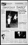Spartan Daily, October 9, 1986 by San Jose State University, School of Journalism and Mass Communications