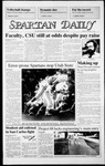 Spartan Daily, October 13, 1986 by San Jose State University, School of Journalism and Mass Communications