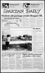 Spartan Daily, October 16, 1986 by San Jose State University, School of Journalism and Mass Communications
