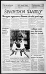 Spartan Daily, October 24, 1986 by San Jose State University, School of Journalism and Mass Communications