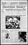 Spartan Daily, October 27, 1986 by San Jose State University, School of Journalism and Mass Communications