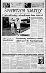 Spartan Daily, October 28, 1986 by San Jose State University, School of Journalism and Mass Communications