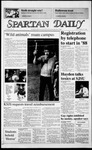 Spartan Daily, October 31, 1986 by San Jose State University, School of Journalism and Mass Communications