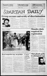 Spartan Daily, November 3, 1986 by San Jose State University, School of Journalism and Mass Communications