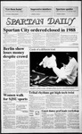 Spartan Daily, November 4, 1986 by San Jose State University, School of Journalism and Mass Communications