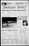 Spartan Daily, November 7, 1986 by San Jose State University, School of Journalism and Mass Communications