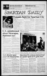 Spartan Daily, November 11, 1986