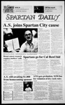 Spartan Daily, November 13, 1986 by San Jose State University, School of Journalism and Mass Communications