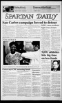 Spartan Daily, November 19, 1986 by San Jose State University, School of Journalism and Mass Communications
