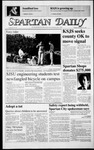 Spartan Daily, November 25, 1986 by San Jose State University, School of Journalism and Mass Communications